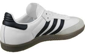 white samba adidas samba shoes white black