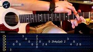 Tutorial Gitar Dear God | tutorial intro akustik avenged sevenfold dear god youtube