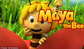 maya the bee features graphic drawing of a daily mail online