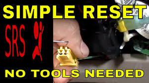 honda civic airbag srs light reset acura youtube