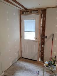 Prehung Exterior Doors Installing Prehung Exterior Door Install Extraordinary Design