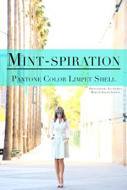 mint spiration pantone color of the week limpet shell laura dunn