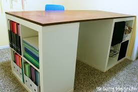 counter height craft table diy counter height craft table a jennuine life diy craft table