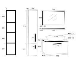 norme hauteur plan de travail cuisine hauteur miroir salle de bain idées décoration intérieure farik us