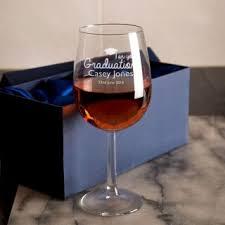 graduation wine glasses personalised graduation gifts forever bespoke