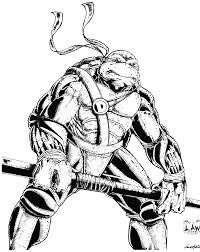 donatello ninja turtle sketch spiderlaw deviantart