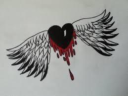 bleeding heart flying away by johnatevolution on deviantart