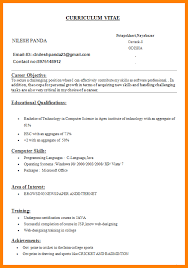simple curriculum vitae for student 9 curriculum vitae format for engineering students mail clerked