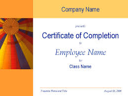 10 best images of training certificate template powerpoint