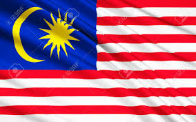 Flag With Cross And Stripes The National Flag Of Malaysia Also Known As The Jalur Gemilang