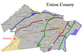 map of essex county nj city of plainfield rich history