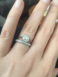 Engagement Rings And Wedding Bands by Looking For Ideas For Wedding Band With Bezel Set Engagement Ring