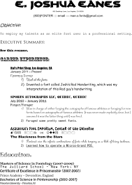 Best Font To Use On Resume by The Higgs Weldon