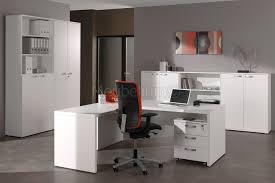 bureau contemporain pas cher ensemble de bureau contemporain blanc octavia pas cher