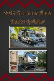 123 best class c motorhomes images on pinterest class c this 2016 thor four winds siesta sprinter packs quite the punch class c rv