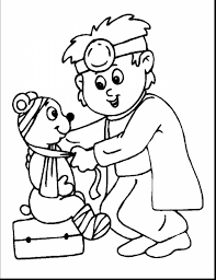octopus coloring page doctor octopus coloring pages archives best coloring page