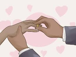 3 ways wear a wedding band and engagement ring wikihow