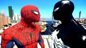 spider man spiderman vs black spider man youtube