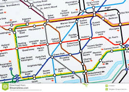 London Metro Map by London Underground Map Editorial Photography Image 37456697