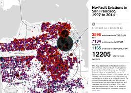 san francisco eviction map mapping the social city your maps social