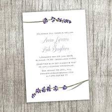 lavender wedding invitations idea lavender flower wedding invitations for lavender wedding