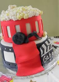 Movie Themed Cake Decorations Gabe U0027s Movie Theme Birthday Cake Momma D And Da Boyz