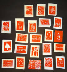 bug archive our block print cards enjoy