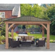 gazebo heavy duty 12 x 14 wood gazebo heavy duty outdoor aluminum roof for patio