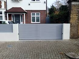 modern front garden design double scribble boundary wall house