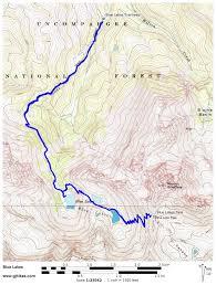 Colorado Lakes Map by Gjhikes Com Blue Lakes