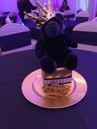 teddy centerpieces for baby shower centerpieces baby shower royal theme prince shower