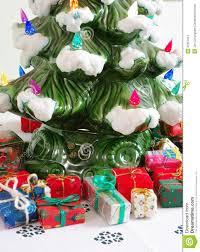 ceramic christmas tree u0026 gifts stock photo image 47567941
