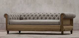 Sofa Chesterfield Deconstructed Chesterfield Sofa