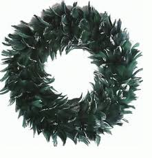 beautiuful feather wreaths a fun decorating accent your