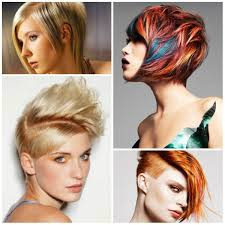 funky hairstyles for medium hair 2017 latest short hairstyle ideas