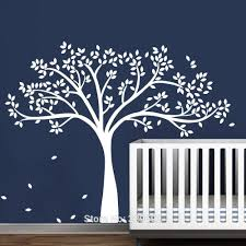popular white tree decal for nursery wall buy cheap white tree white tree decal for nursery wall