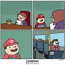 Cartoon Meme Generator - mario meme template album on imgur