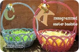 monogrammed baskets monogrammed easter baskets liz on call