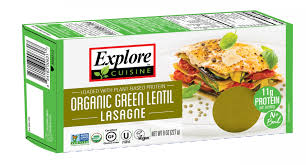 Free Green by Organic Green Lentil Lasagne Pulse Pastas Products