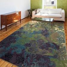 Outlet Area Rugs Park Avenue Rugs Xanthe Floral Green Lavender Area Rug Area Rugs