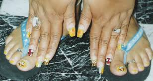 spongebob nail art archive style nails magazine