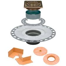 6 Floor Drain by Schluter Kerdi Drain 4 In X 4 In Pvc Drain Kit In Oil Rubbed