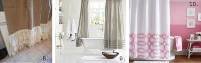 Ruffled Shower Curtains Friday Finds Ruffle Shower Curtains House Of Hargrove