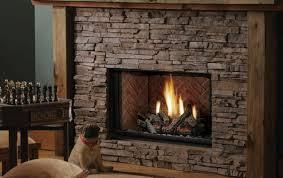 decor traditional astria wood burning fireplace stone finish