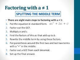 7 factoring