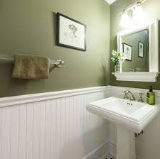 Shelf For Pedestal Sink Traditional Powder Room With Pedestal Sink U0026 Wainscoting In Short