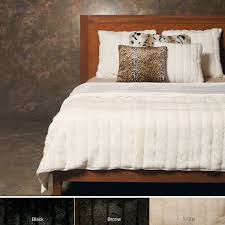 Fur Bed Set Amazon Com Best Home Fashion 1 Pc Faux Fur Duvet Cover Set