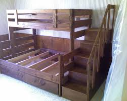 bunk beds full over full bunk beds with stairs twin bunk beds