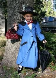 Mary Poppins Halloween Costume Kids Disney Mary Poppins Nanny Mcphee Book Victorian Girls Fancy