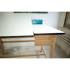 Split Drafting Table Alvin 37 5 X 60 Titan Ii Oak Split Top Drafting Table Wsb60